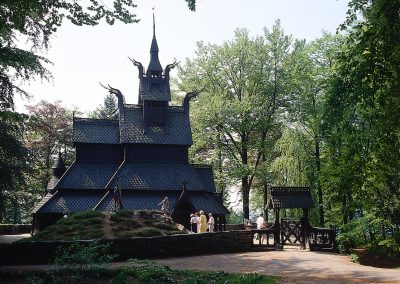 Panorama Tour Including Fantoft Stave Church